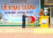 Khai giảng năm học mới 2020 – 2021